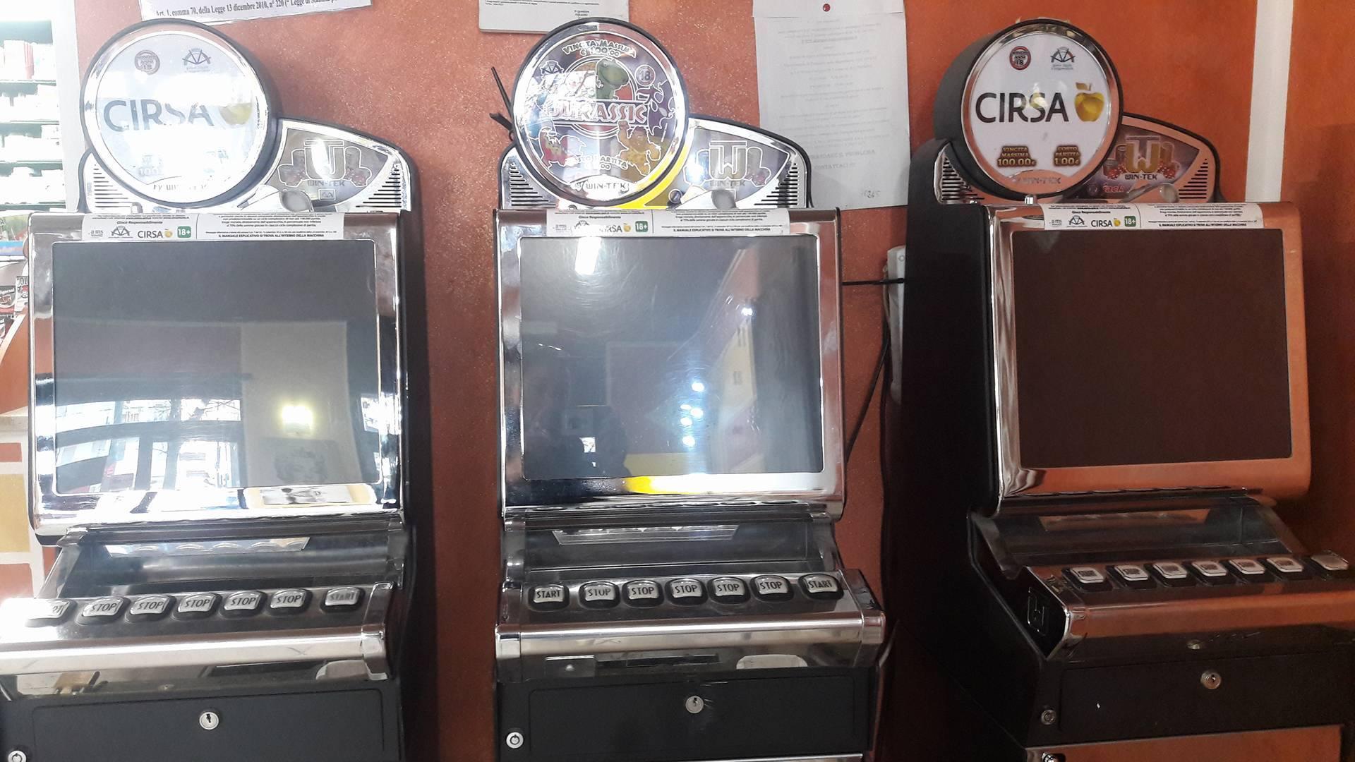 Legge sulle slot machine 2018